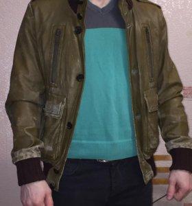 Куртка натуральная кожа GUCCI