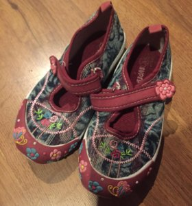 Туфли тряпочки