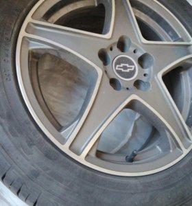 Диски литые R16 на Chevrolet Cruze