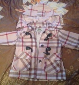 Курточка для девочек на тёплую весну