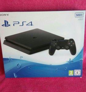 Новая Sony Playstation 4 slim 500gb ps4
