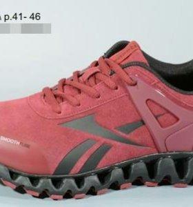 Reebok новые кроссовки марсала