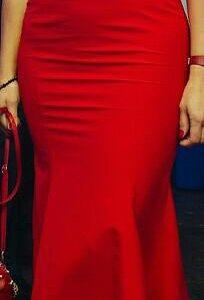 Вечернее платье в пол на выпускной