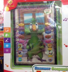 Планшет попугай звуковой игрушка