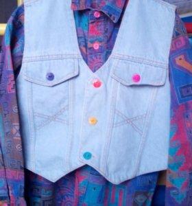Рубашка+желет