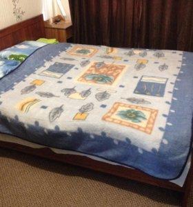 Кровать ортопедическая с матрасом 2х1,8м