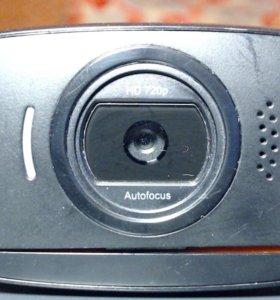 Вебкамера 720HD 8мп logitech c525