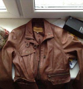 Куртка кожаная кожанка fidanelli