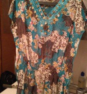 Блузка- туника новая