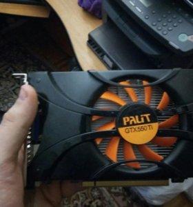 Видеокарта Nvidia gtx550ti