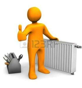 Услуг электрика, сантехника, отопление, водо-ние