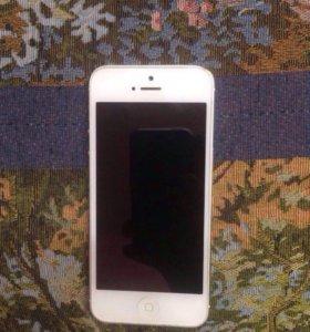 Айфон 5 16гб белый