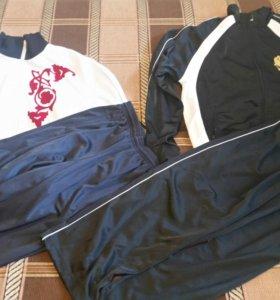 Спортивный костюм ворсовой трикотаж 48 размер