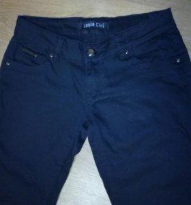 Брюки джинс черные