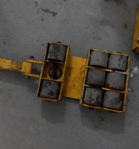 Катки (такелажное оборудование), домкрат