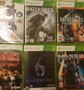Xbox лицензия 6 дисков