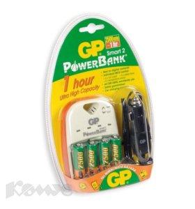 Зарядное устройство gp powerbank smart 2