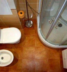 Ванная санузел под ключ