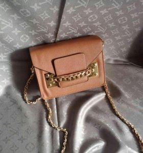 Женская сумка сумочка клатч кроссбоди новая