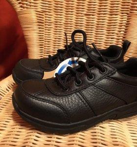 Новые туфли Timberland.