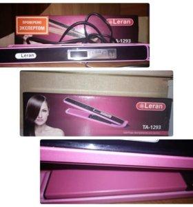 Щипцы для выпрямления волос Leran
