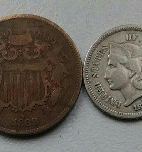 Продам редкие монеты США