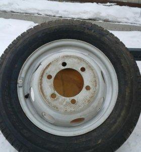 Колесо от газнли с диском новое кардиант