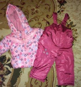 Комплект верхней одежды для девочек