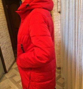 Весенняя куртка(удлинённая)