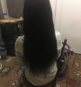 Наращивание ресниц волос