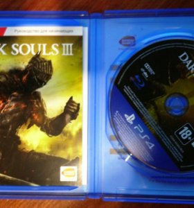 Игра dark souls 3 диск ps4 playstation