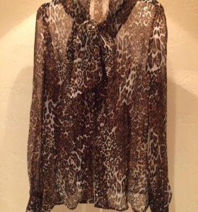 Блузка леопардовая 42-44