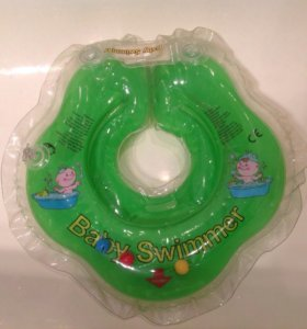 "Новый круг на шею с погремушками ""Baby Swimmer"""
