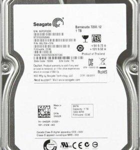 Жёсткий диск 1Тб Barracuda 7200.12  б/у