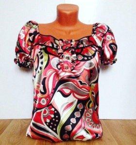 Брендовая блуза