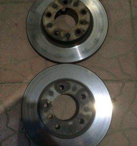Тормозные диски передние bmw E46