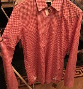 Мужская рубашка Hugo boss оригинал