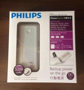 Power bank Philips, аккумулятор