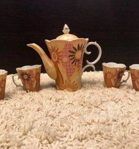 """Новый чайный сервиз """"Подсолнух"""""""