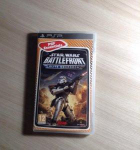 Игра на PSP Star Wars Battlefront Elite Squadron