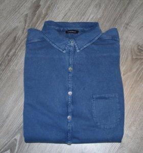 Рубашки джинсовая женская