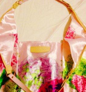 Сумка летняя с цветами