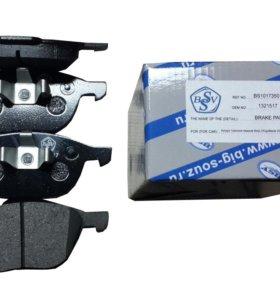 Колодки тормозные передние Фокус2/Kuga/Mazda/Volvo