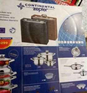 Посуда цептор континеталь