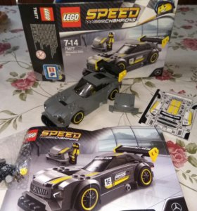 Lego SPEED CHAMPIONS 75877 mercedes AMG