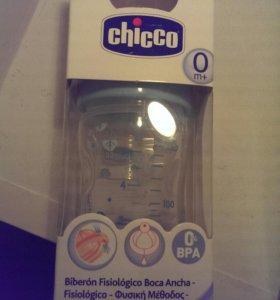 Бутылочка Chicco 0+