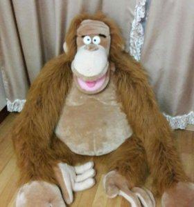 Игрушка-стул большая обезьяна