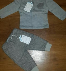 Брюки и пиджак на мальчика новый