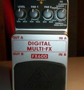 Гитарная педаль мультиэффектов Behringer FX-600