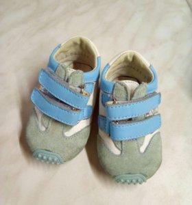 Обувь детская кожа